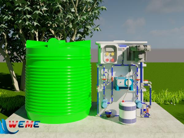 Hệ thống xử lý nước thải y tế - WeMe